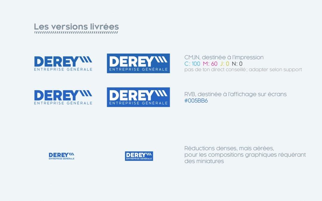 Charte Graphique pour Derey